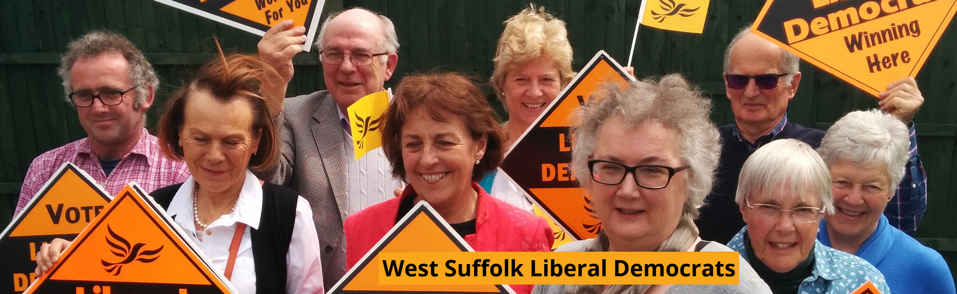 West Suffolk Liberal Democrats (Photo by Chris Lale wslibdems.org.uk)