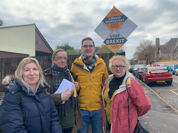 West Suffolk supports Ian Sollom in S Cambs