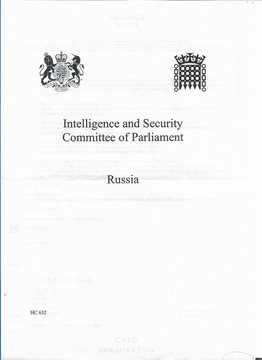 Cover of ISC Russia Report